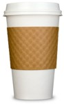 Our cartridge, paper and plastic waste equals the weight of over 1,500,000 paper coffee cups per year!